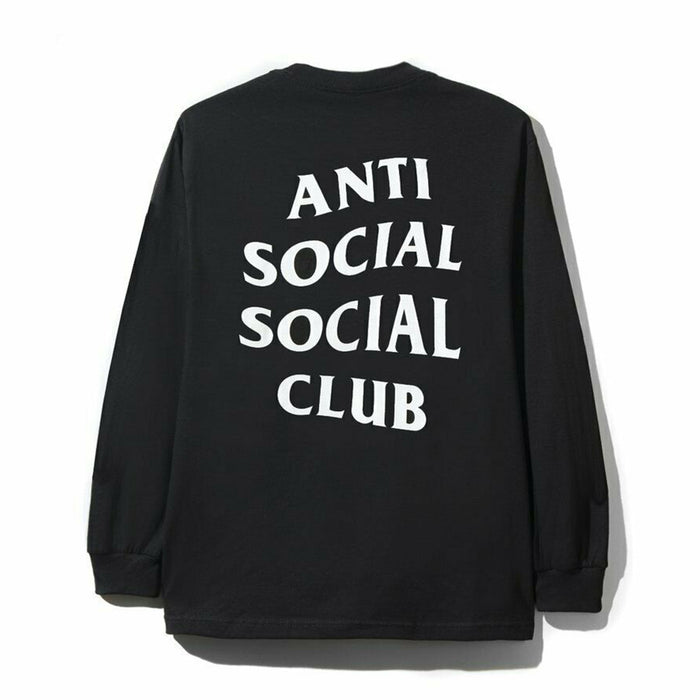 Anti Social Social Club Mind Games L/S Tee Black