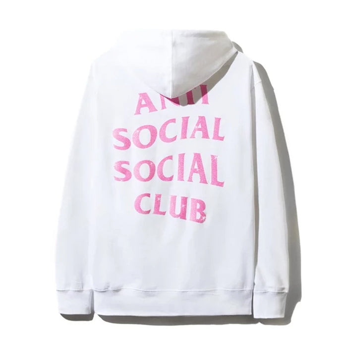 Anti Social Social Club Blinded Hoodie White