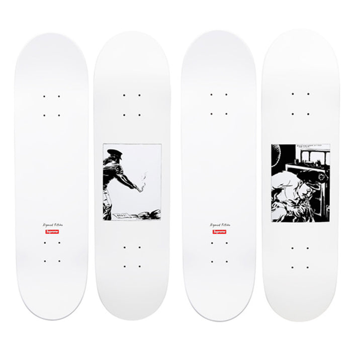 Supreme Raymond Pettibon Bang & Blood Sperm Deck Set (2014)