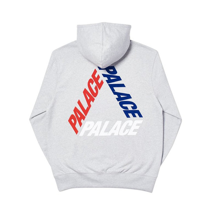 Palace Flocka P3 Hood Grey Marl
