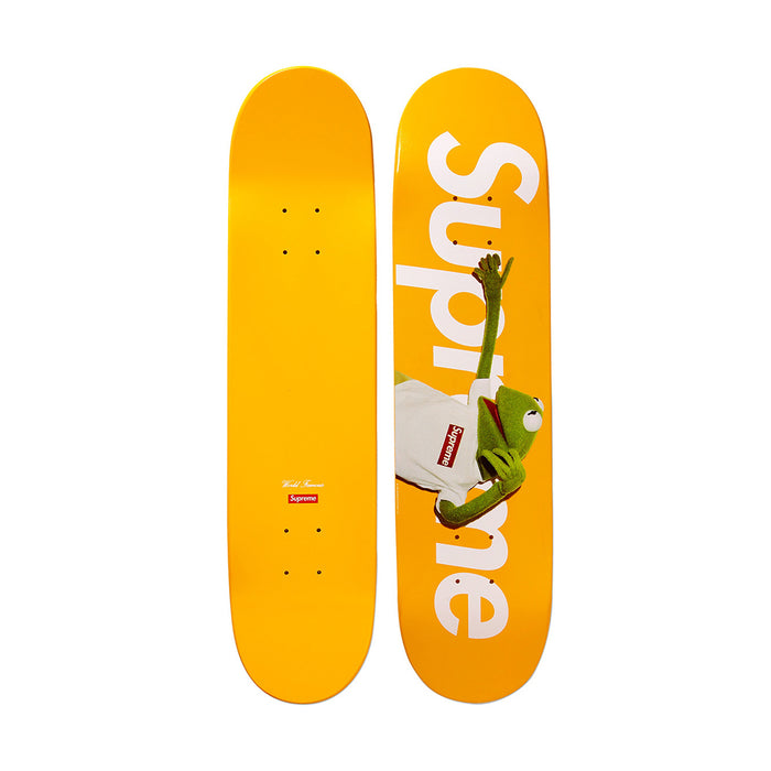 Supreme Kermit Skateboard Deck Yellow (2008)