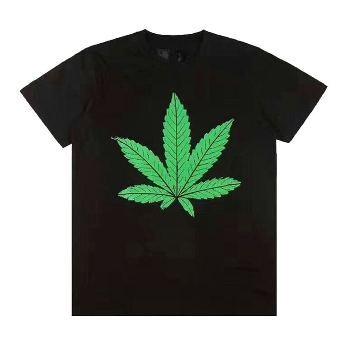 Vlone 420 Weed Tee Black/Green
