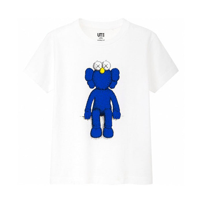KAWS x Uniqlo Blue BFF Tee White (Kids)