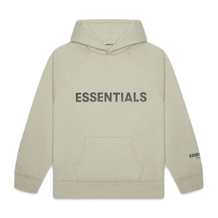 FOG ESSENTIALS APPLIQUE PULLOVER HOODIE MOSS