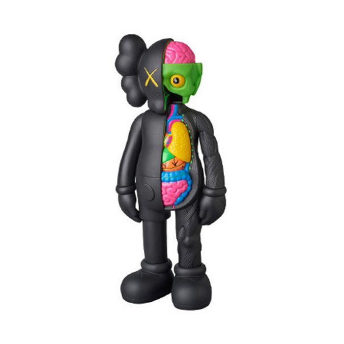 KAWS Companion Flayed Open Edition Vinyl Figure Black