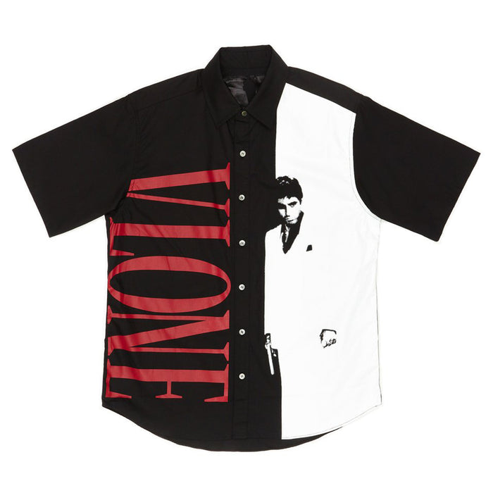VLONE Scarface Button Up Short Sleeve