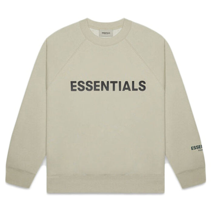 FOG ESSENTIALS APPLIQUE CREWNECK MOSS