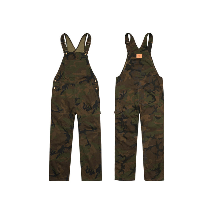 Supreme x Louis Vuitton Jacquard Denim Overalls Camo