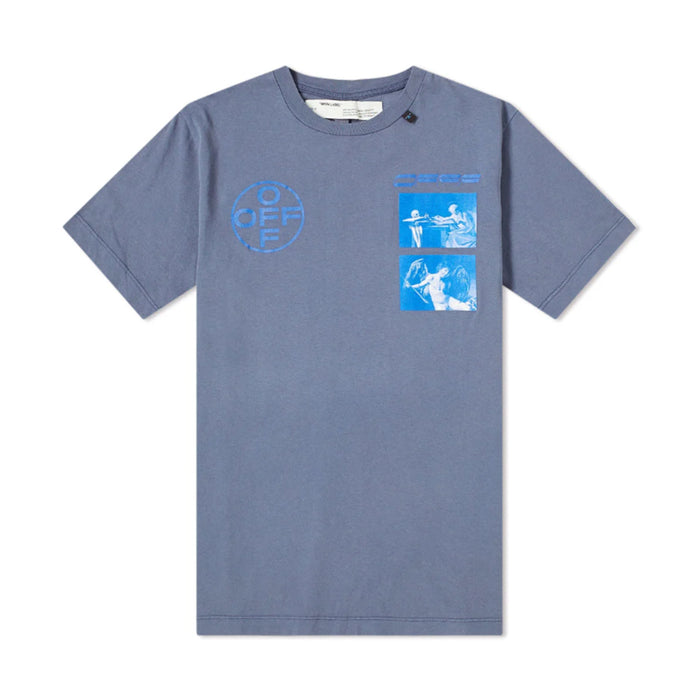 OFF-WHITE Hardcore Caravaggio T-shirt (FW 19) Blue/Blue