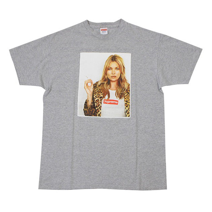 Supreme Kate Moss Photo Tee Heather Grey (2012)