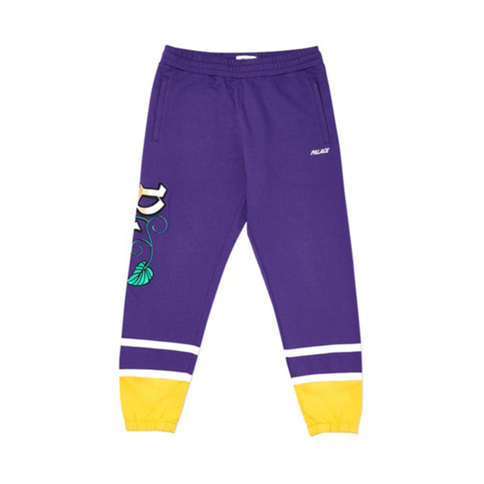 Palace Zero Zero Jogger Purple/Yellow