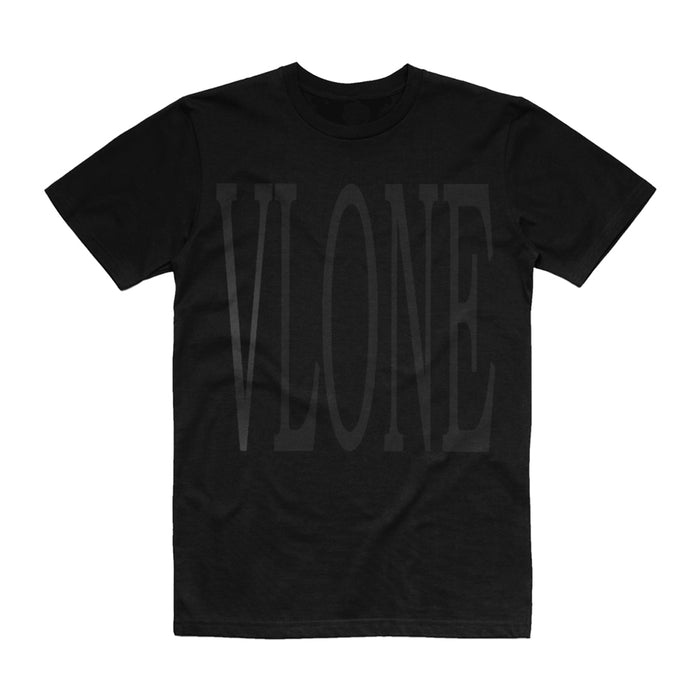 Vlone 3M Staple Tee Black/Black