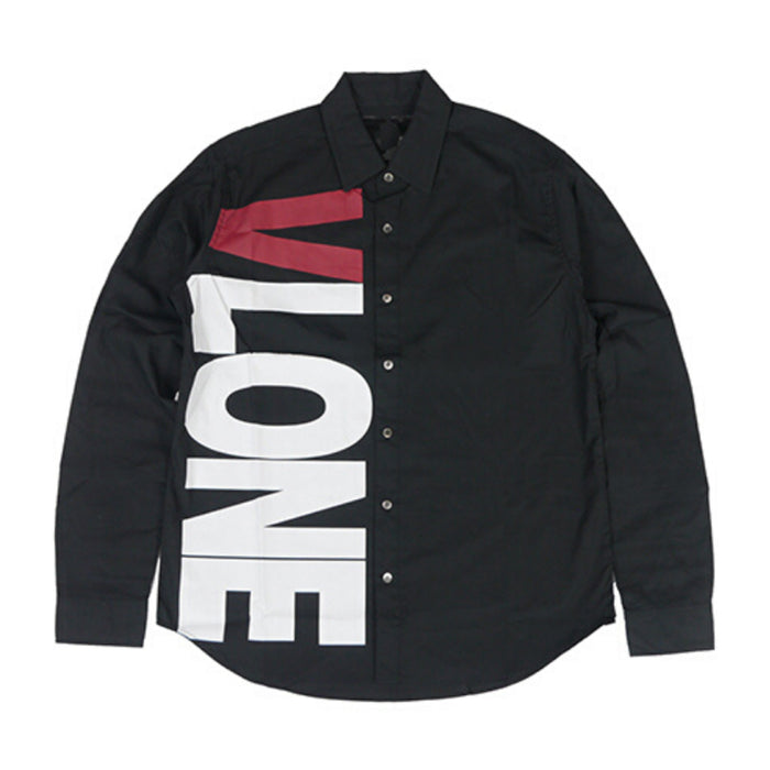 VLONE Side Logo Button Up Long Sleeve