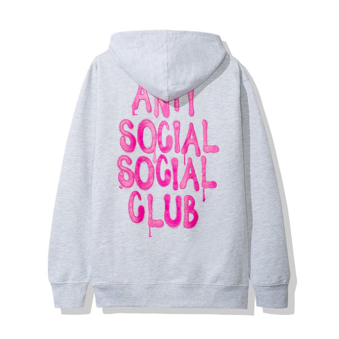 Anti Social Social Club LES HOODIE Grey