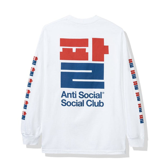 Anti Social Social Club Sesame Oil Long Sleeve Tee White