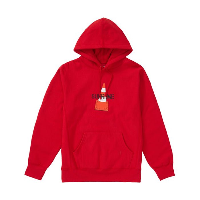Supreme Cone Hooded Sweatshirt Red