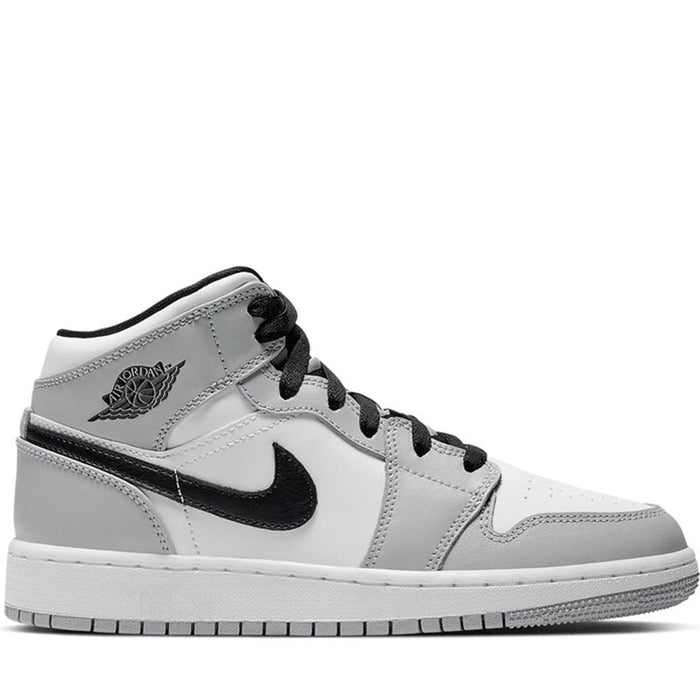 Jordan 1 Mid Light Smoke Grey (GS)
