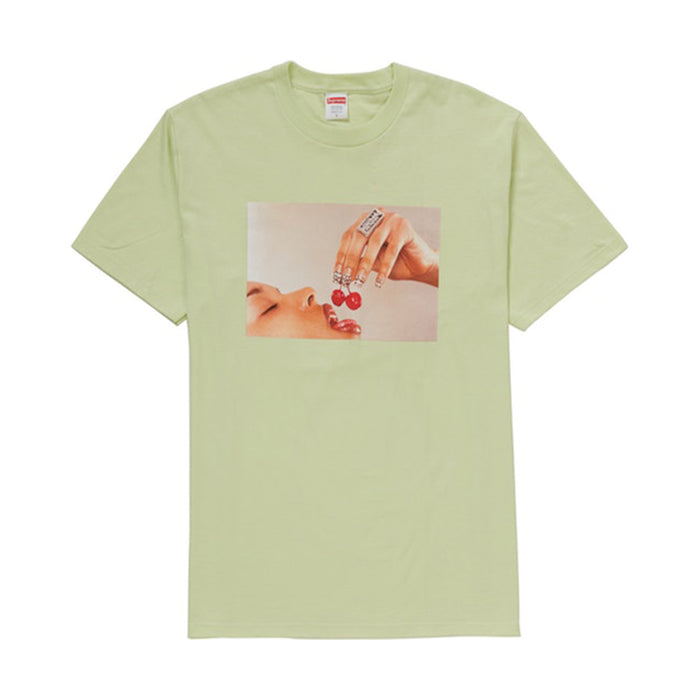 Supreme Cherries Tee Pale Mint