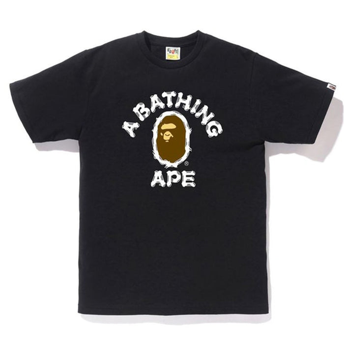 BAPE Brush College Tee (SS20) Black