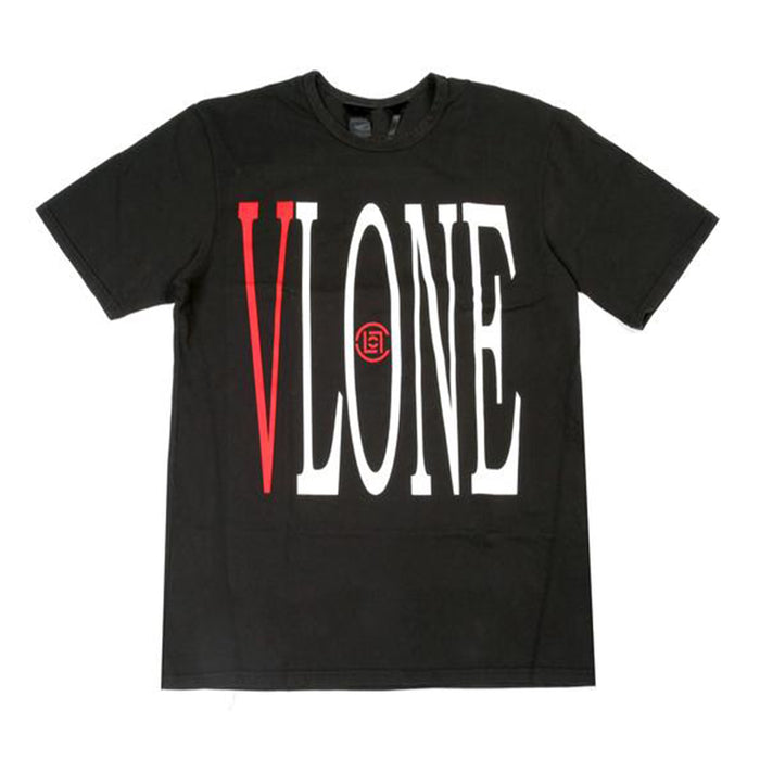 Vlone x Clot Staple Tee Black/Red