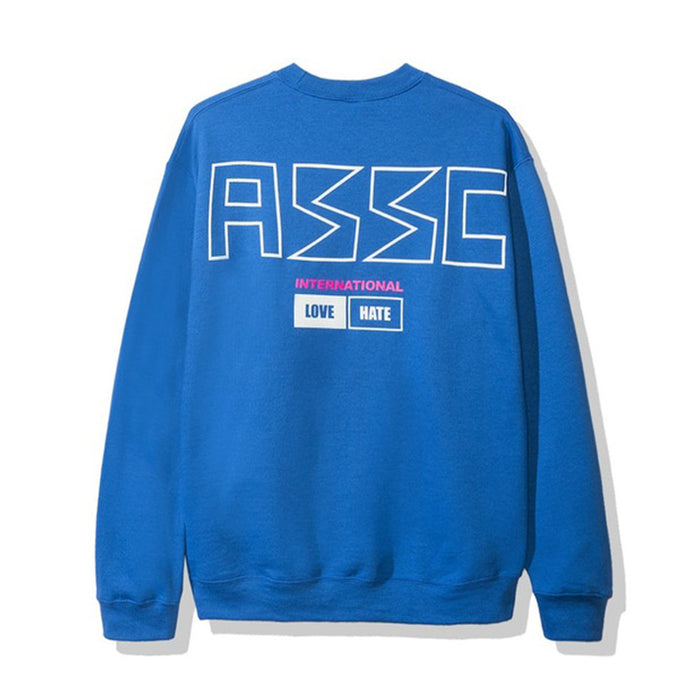 Anti Social Social Club 300ZX Crewneck Blue