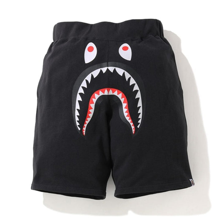BAPE Shark Wide Sweatshort Black