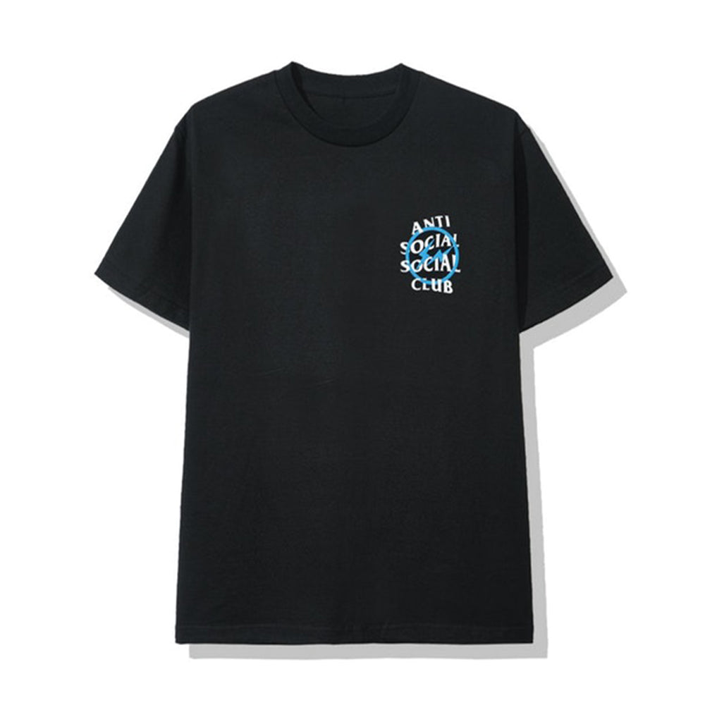 ASSC x Fragment Blue Bolt Tee Black