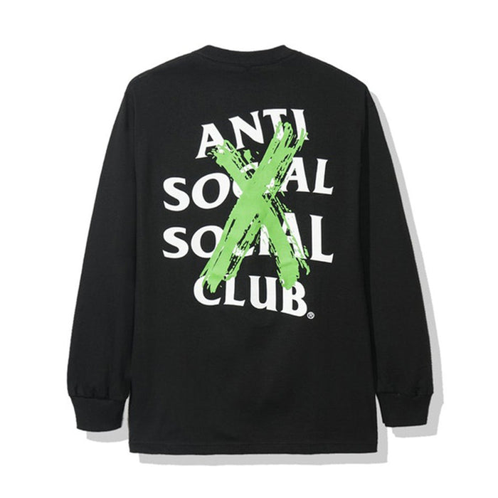 Anti Social Social Club Cancelled Remix L/S Tee Black
