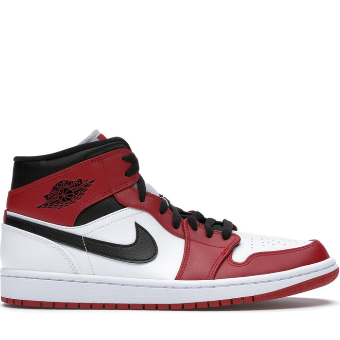 Jordan 1 Mid Chicago White Heel (2020)