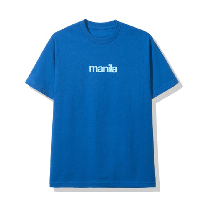 Anti Social Social Club Manila Tee Blue