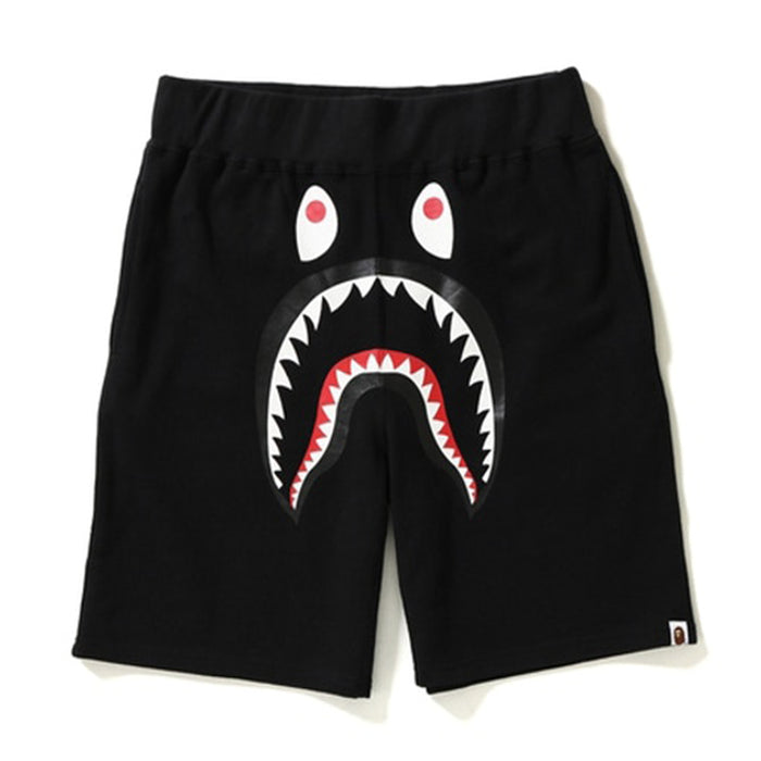 BAPE Shark Camo Pocket Sweat Shorts Black/Green