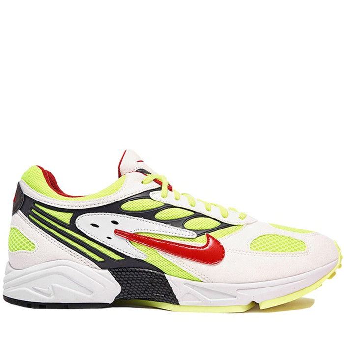 Nike Air Ghost Racer White Atom Red Neon Yellow