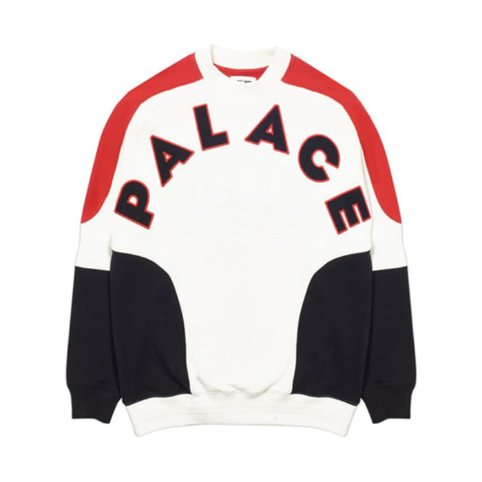 Palace Roundhouse 2 Da Face Crew White/Red