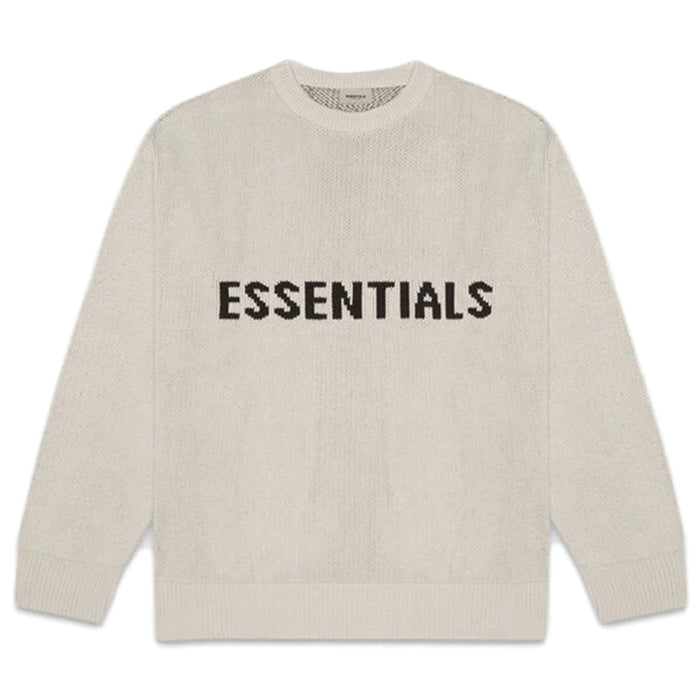 FEAR OF GOD ESSENTIALS Knit Sweater Moss