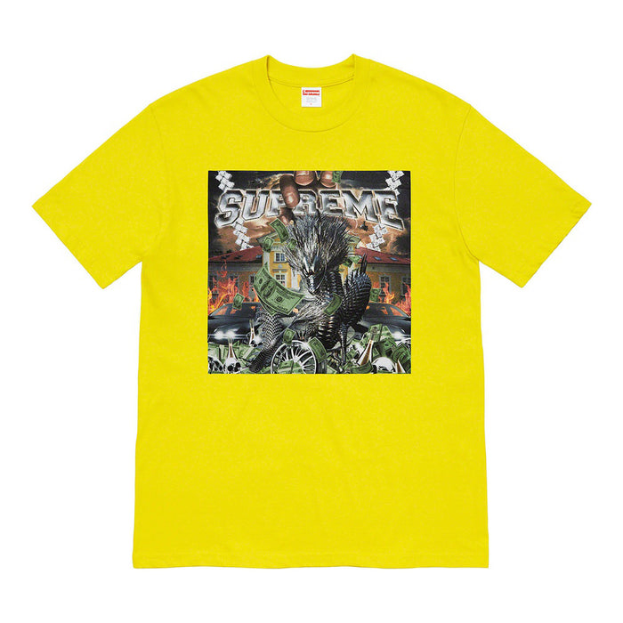 Supreme Dragon Tee Sulfur