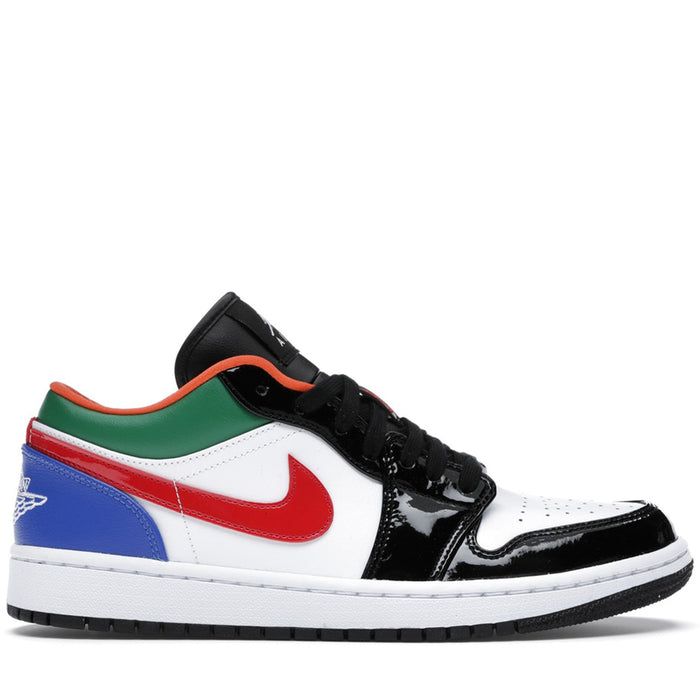Jordan 1 Low Multi-Color Black Toe (W)