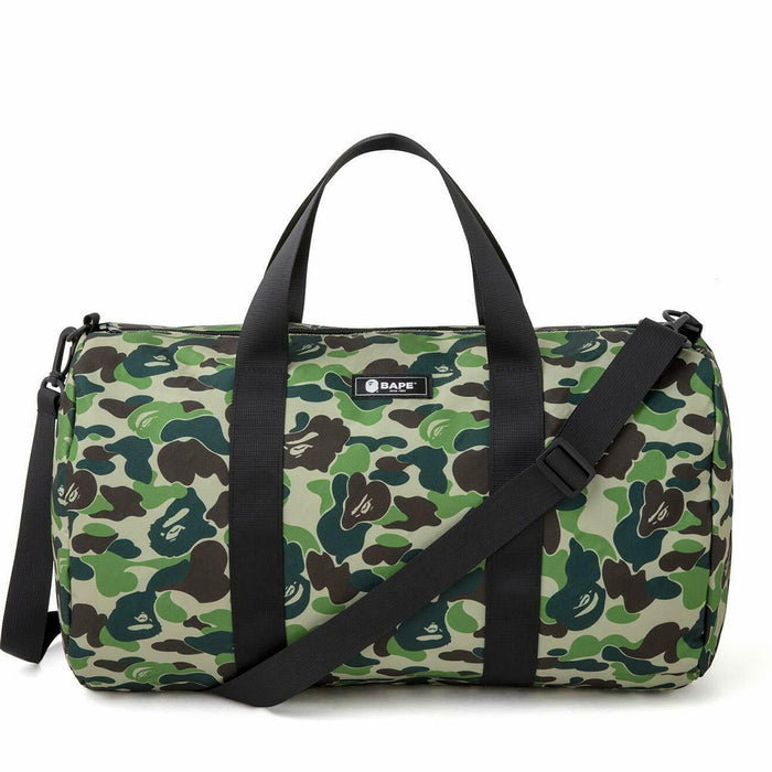 BAPE ABC Camo Duffle Bag Green
