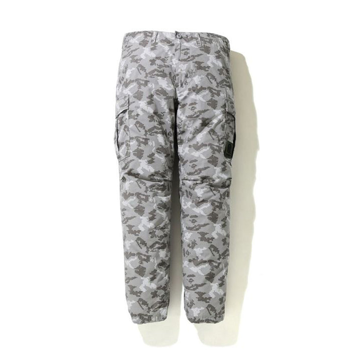 BAPE DIGITAL CAMO 6POCKET PANTS GREY