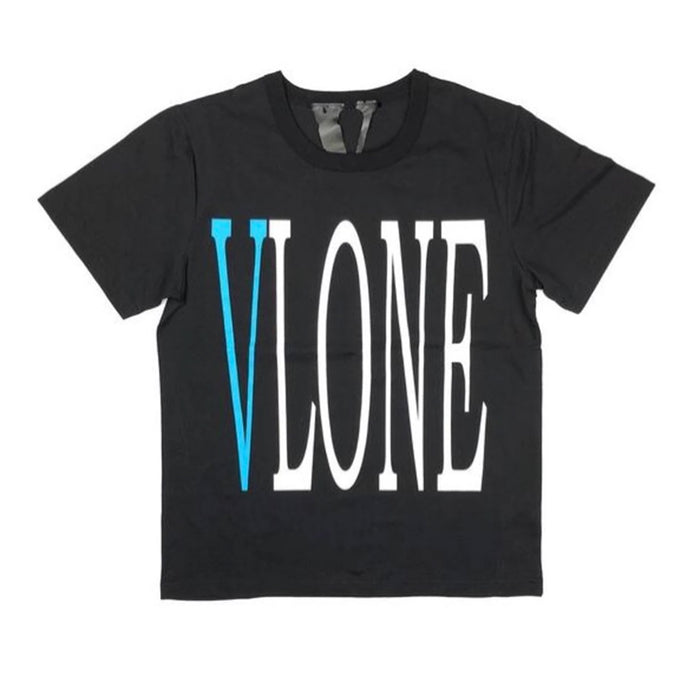 Vlone x Barneys Japan Exclusive Staple Tee Black/Teal
