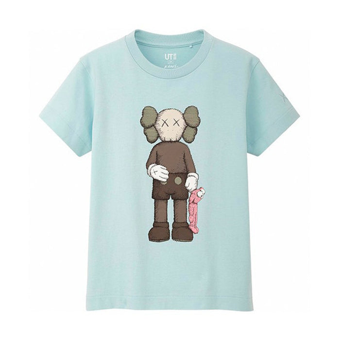 KAWS x Uniqlo Companion Tee Light Blue (Kids)