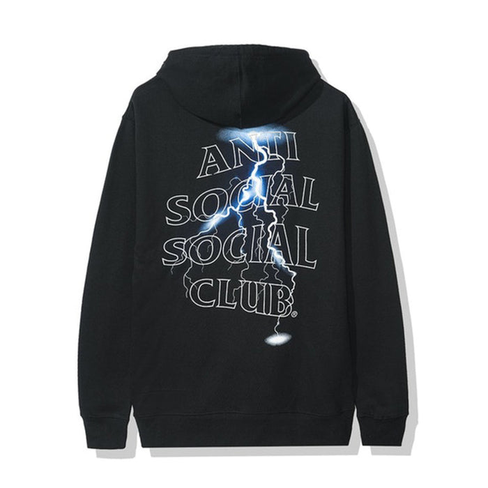 Anti Social Social Club Twister Hoodie Black