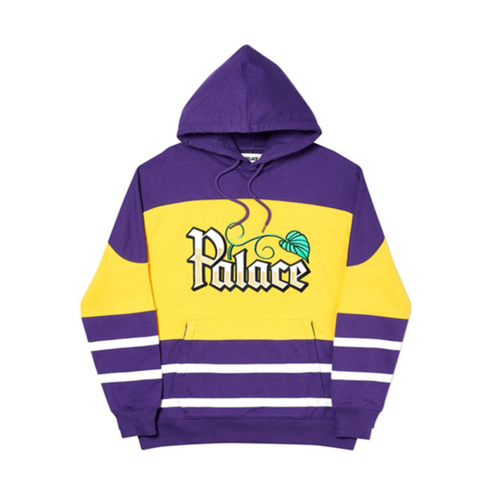 Palace Zero Zero Hood Purple/Yellow