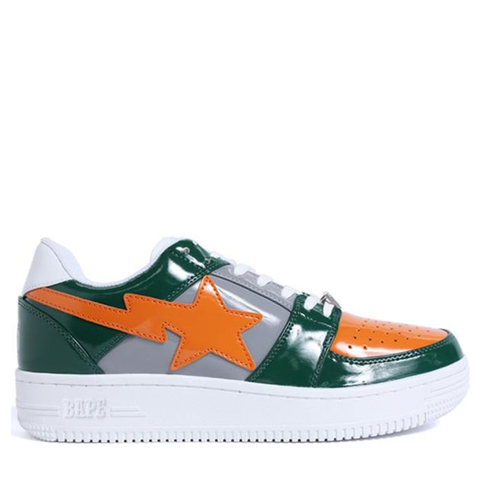 A Bathing Ape Bapesta Green Orange Grey (2017)