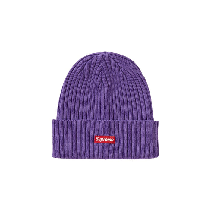 Supreme Overdyed Beanie Purple