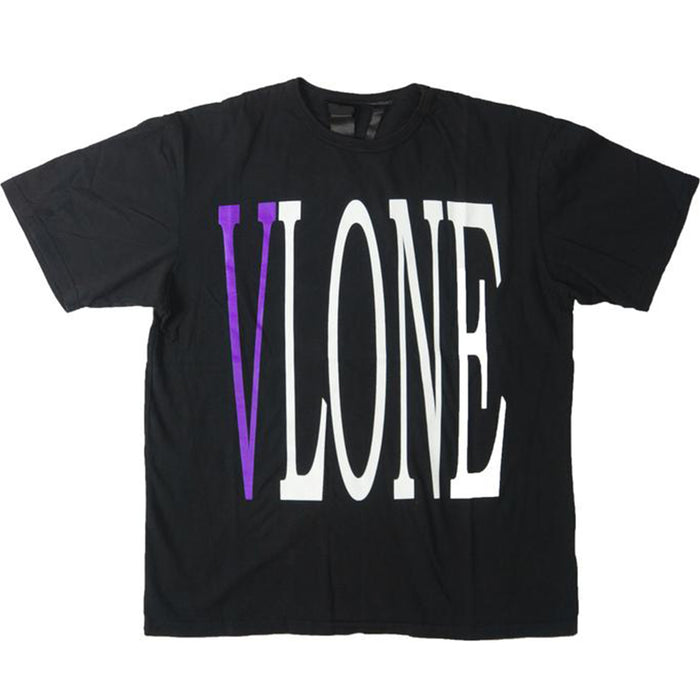 Vlone Staple Tee Black/Purple
