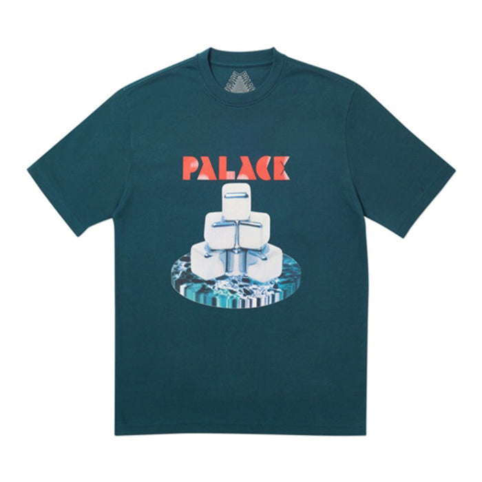Palace Cubes T-Shirt Dark Green