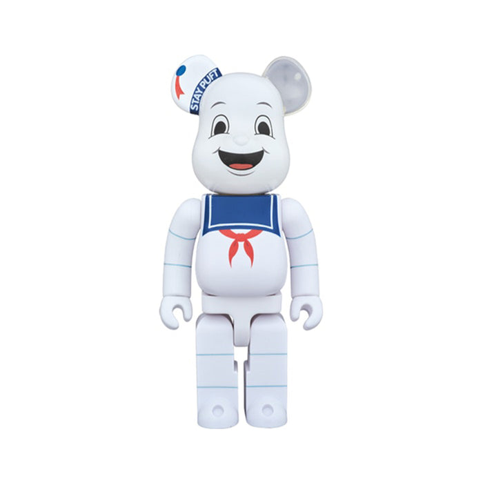 Bearbrick x Ghostbusters Stay Puft Marshmellow Man 1000% White