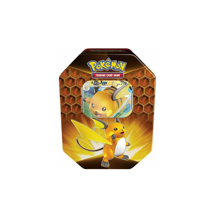 Pokemon Hidden Fates - Raichu GX Tin