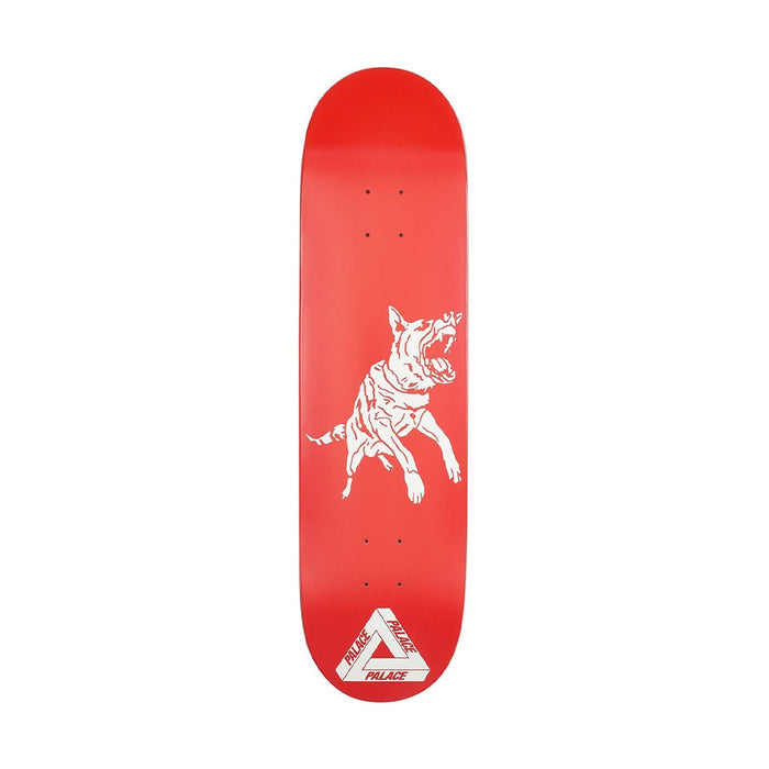 Palace Dogs Skateboard Deck Red
