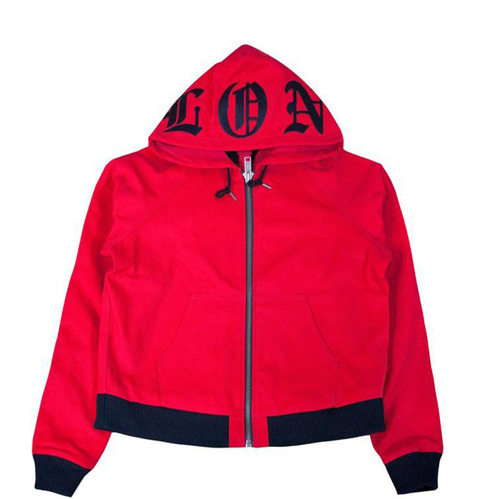 Vlone Denim Jacket Red/Black